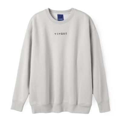 [벤크] 아무 네온 스웨트 셔츠 포그그레이