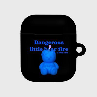 Little fire covy-black(에어팟 하드)