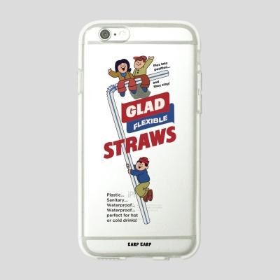 [어프어프] 젤리케이스 Straws glad