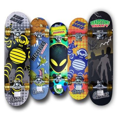 영국브랜드 스케이트보드 어린이 초보자전용 9겹데크 에스보드 킥보드 크루져보드