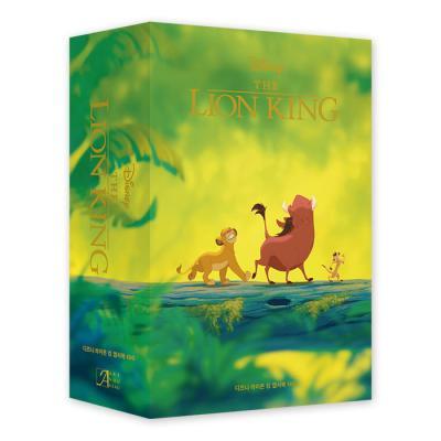 디즈니 라이온 킹 엽서북 100