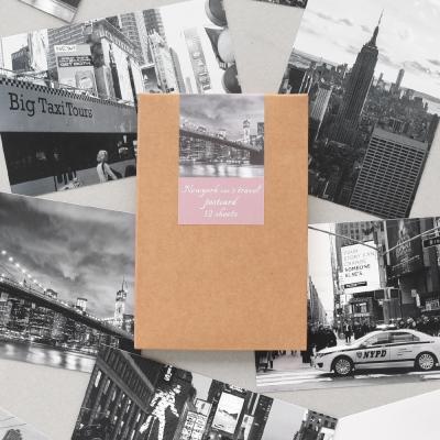 트래블 포스트카드 뉴욕 ver.3 12p