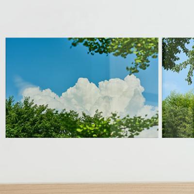 ie597-아크릴액자_푸른하늘과나무(대형)