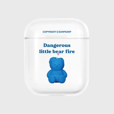 Little fire covy blue-clear(에어팟)