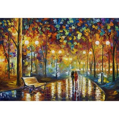 1000조각 목재 직소퍼즐▶ Rain Rustle [WPK1000-24]