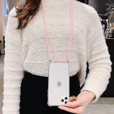 갤럭시S20 김혜수 핸드폰목걸이 줄 세트 투명 케이스