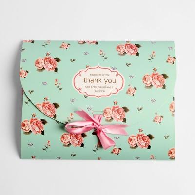 플라워 리본 선물상자 선물포장 종이상자