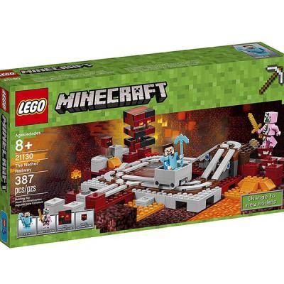 LEGO / 레고 마인크래프트 21130 네더 레일웨이
