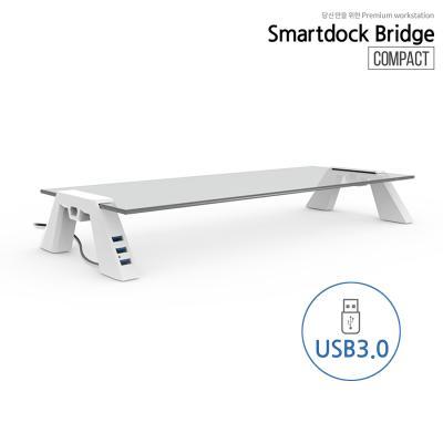 스마트독 브릿지 컴팩트 USB3.0 모니터받침대 C652