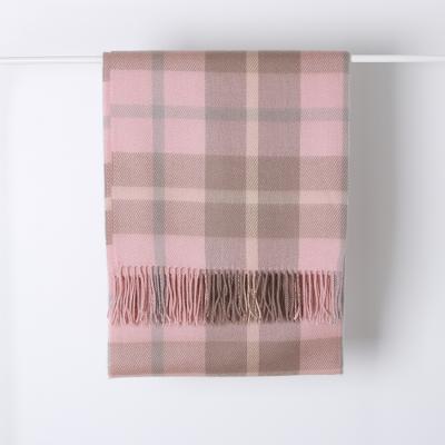 Pink Check Muffler