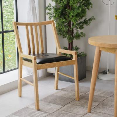 DD063 인테리어의자 디자인체어 PU 원목의자