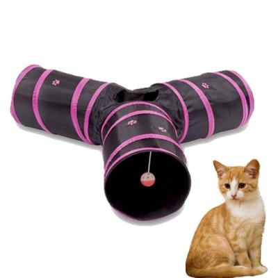 고양이장난감 고양이터널 Y자형 바스락 캣터널