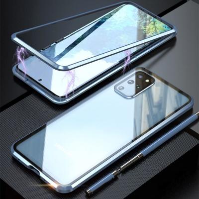 갤럭시 S20 S20+ Ultra 5G 메탈 자석 강화유리 케이스