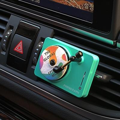 머레이 파스텔 컬러 LP 턴테이블 차량용 방향제