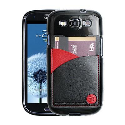 갤럭시S3용 England Leather 3Tones Cardcase 블랙 (3G/LTE 선택)