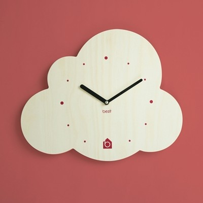 [BEZIT] CLOUD Wall Clock(무소음 벽시계)