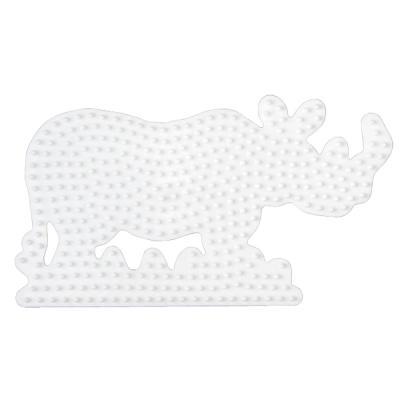 [하마비즈]비즈 보드 - 코뿔소