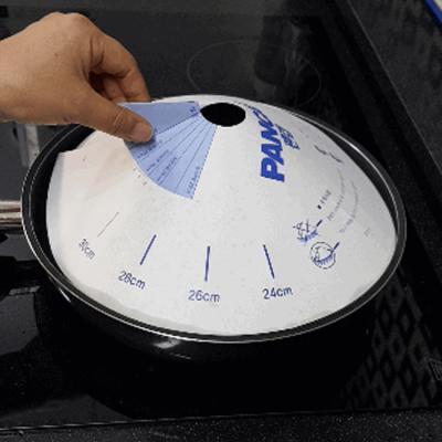 팬캡 특허받은 기름튀김방지 종이캡(50매)