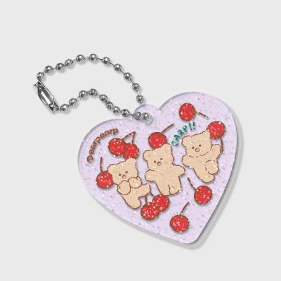 [7.8일 예약발송] cherry nini(글리터키링-퍼플)