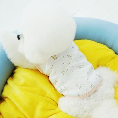 유아러피치 돌고래패턴 홈웨어 _강아지옷 애견의류