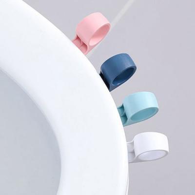 실속형 고리 변기손잡이 1개(색상랜덤)