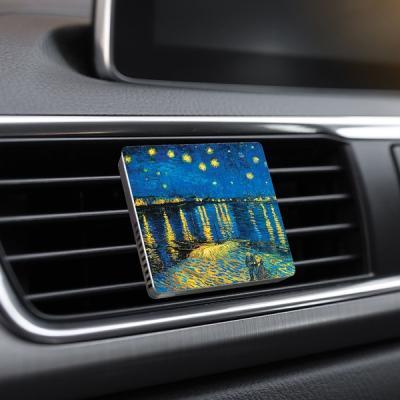 차량방향제 천연 자연향기 명화 액자 명품 감성디퓨저