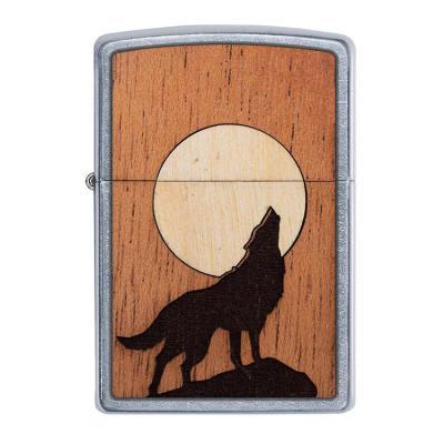 ZIPPO 라이터 49043 WOODCHUCK USA Howling Wolf