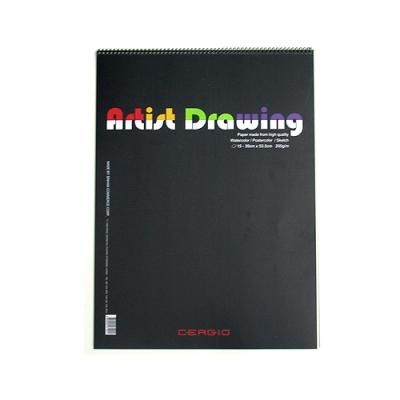 Cergio Artist Drawing 스케치북 200g/㎡