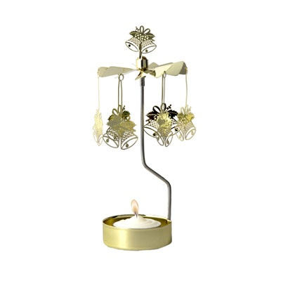 ROTARY CANDLE HOLDER BELLS