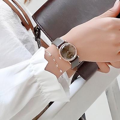 [쥴리어스공식] JA-1012 여성시계 가죽시계