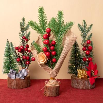 크리스마스장식 미니트리 12종