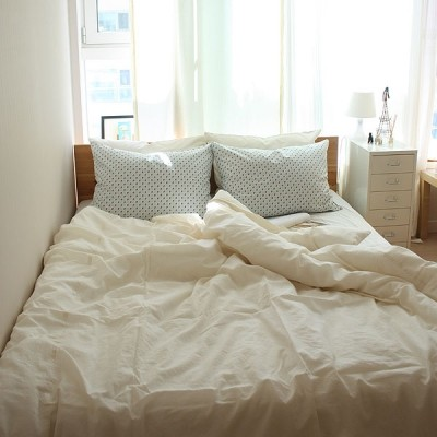 morning glory bedding set (Q)