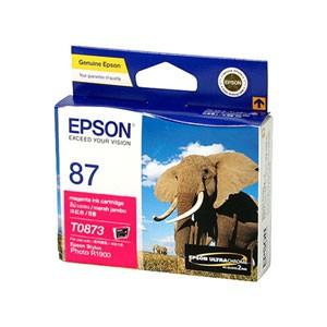 엡손(EPSON) 잉크 C13T087390 / NO.87 / 진홍 / Stylus Photo R1900