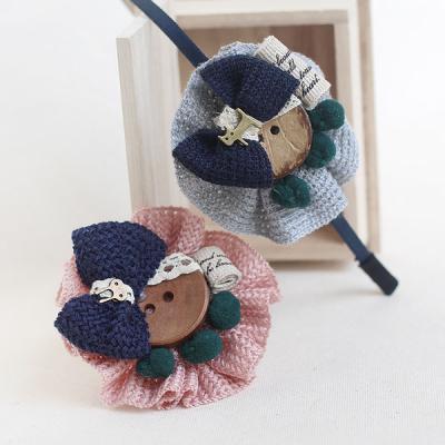 [DIY 패키지] 니트코사지 헤어밴드 (2color)