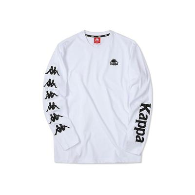 카파 222반다 사이드라인 긴팔 티셔츠 화이트