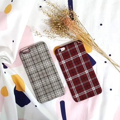 글렌체크 예쁜 아이폰케이스 아이폰 6 7 8 플러스