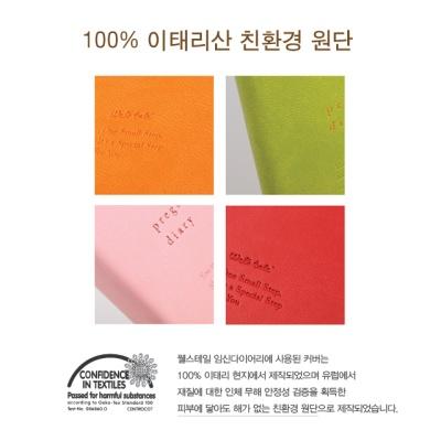 웰스테일 임신다이어리 - 임신정보수록 산모수첩 초음파앨범 태교일기장
