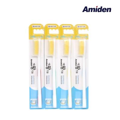 아미덴 대왕칫솔 플러스 12개 골드모 (색상랜덤)