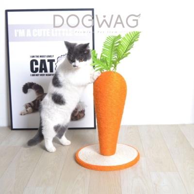 당근 수직 스크래쳐 고양이 스트래스 해소