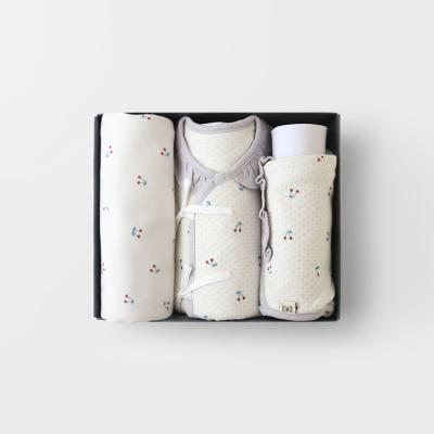 [메르베]미니체리 출산선물세트(저고리+속싸개+모자)