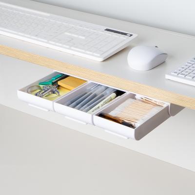 모노플랫 접착식 포터블 서랍 슬라이딩 미니서랍