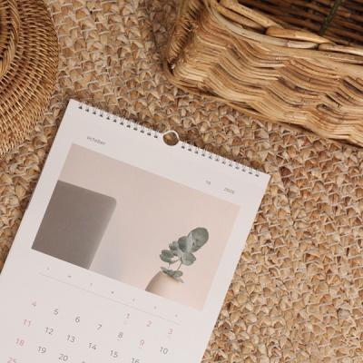 [9월10일 출고] 2020 슬로우 라이프 벽걸이 캘린더