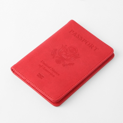 트레블 여권케이스(레드)
