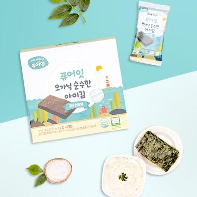 퓨어잇 순수한 아이김 김엔천일염(2g x 10포)