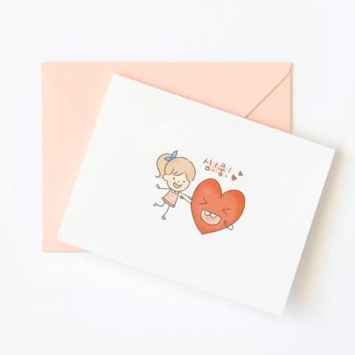 왈가닥스 샐리 미니카드-Heart
