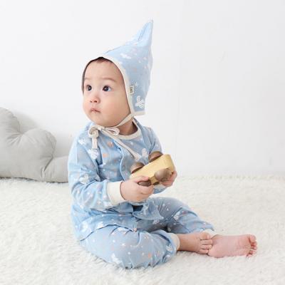 [메르베] 버즈D남아 신생아 유아 내복/내의/아기실내복_간절기용