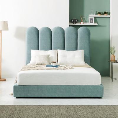 M8502 패브릭 물결헤드 침대 K 1color