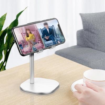 스마트폰 태블릿 패드 탁상 심플 메탈 스탠드 거치대