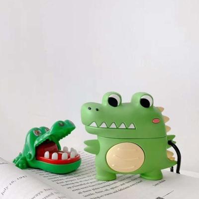 에어팟프로 1 2세대 악어 실리콘케이스 키링 철스티커