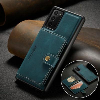 갤럭시노트10/플러스/마그네틱 카드 지갑 가죽 케이스